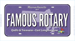 2017 Famous Rotary License Plate