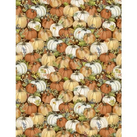 Seeds of Gratitude - Packed Pumpkins Brown