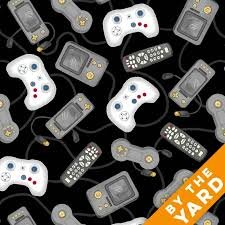 Black Game Console Controllers