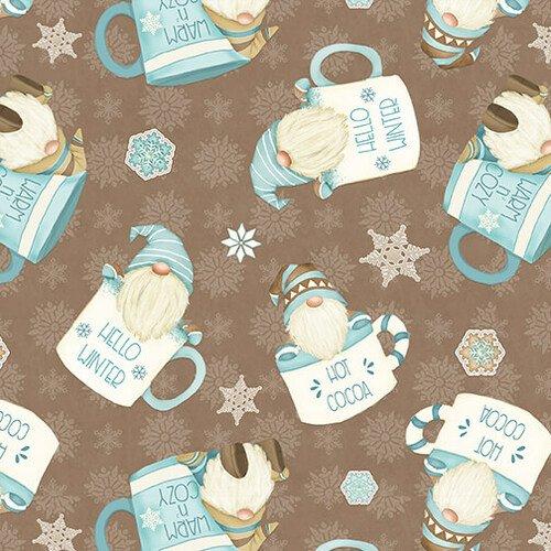 I love Sn-gnomies Hot Cocoa Cup Gnomes Flannel
