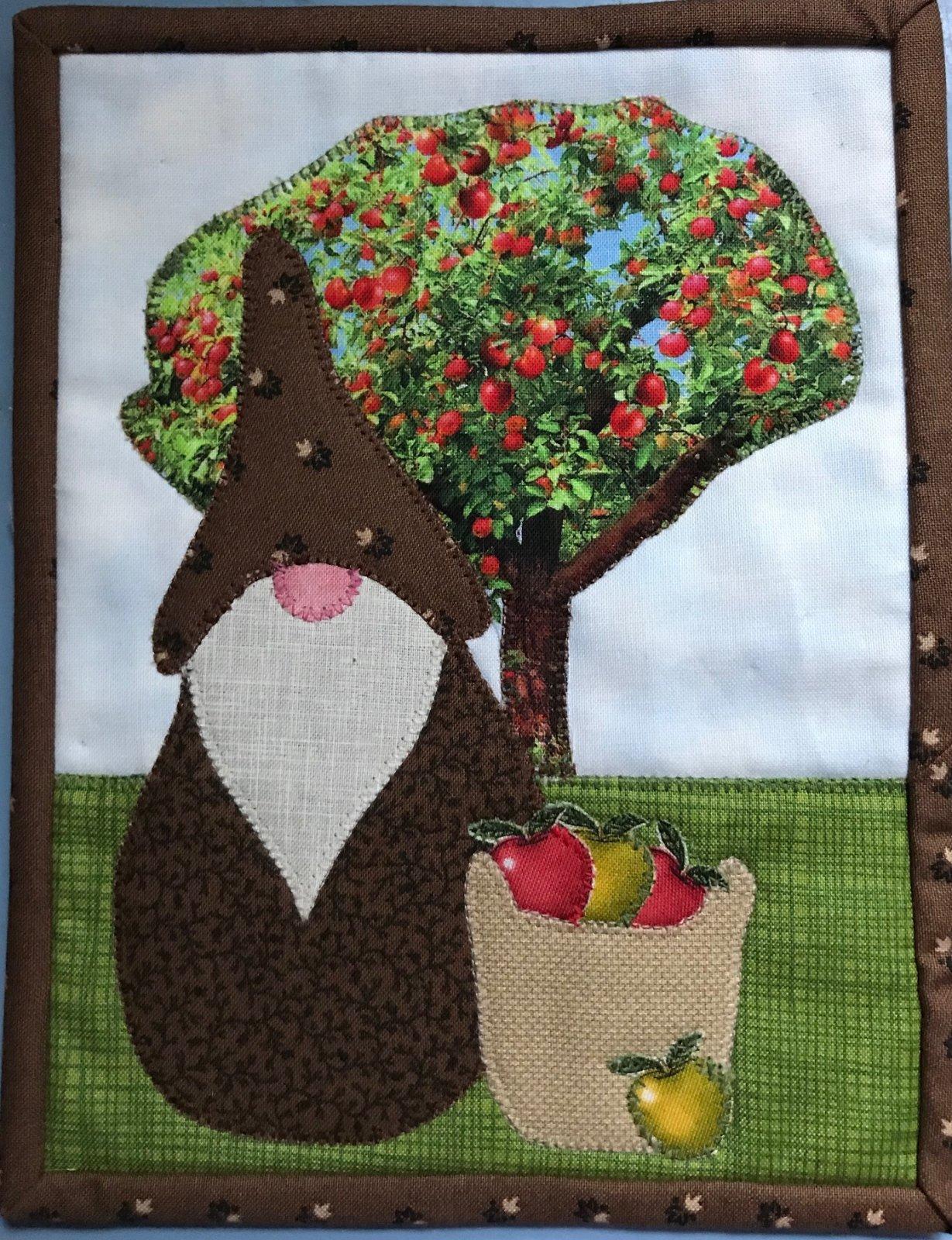 September Apple Gnome