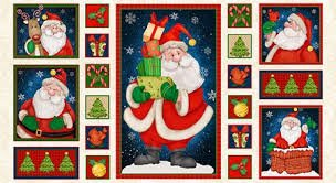 Believe Santa Claus Panel C-28
