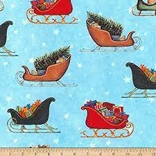 Christmas in the Village - Sleds