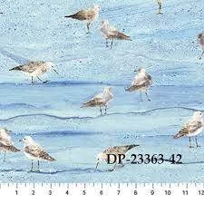 SWEPT AWAY BLUE-small seagulls