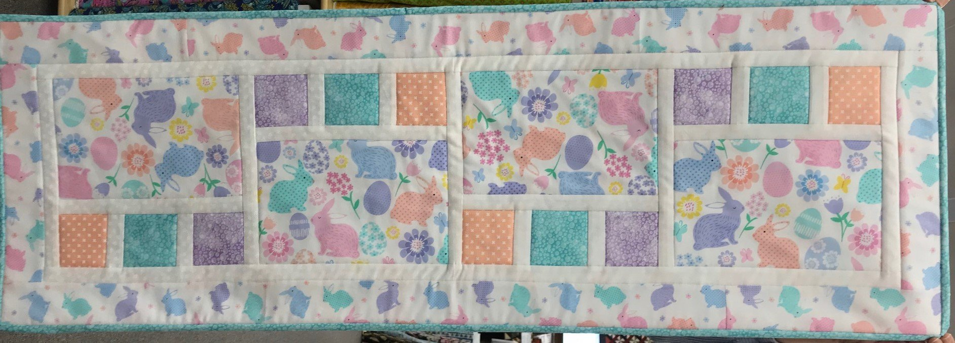 Easter All Squared Up Table Runner
