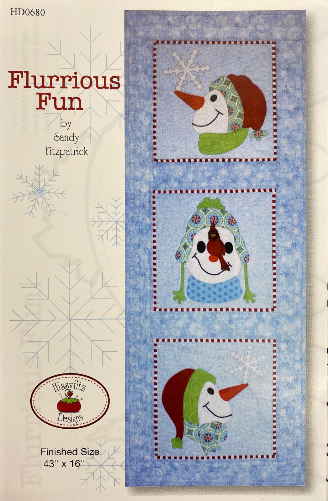 Flurrious Fun by Hissyfitz Designs