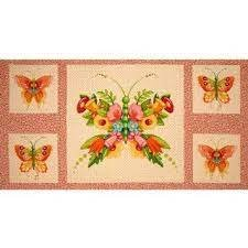 Flutterby by Mary Engelbreit-panel Y-4