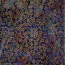 Batik by Mirah Violet Fugue Flower