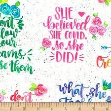 Girl Power 2 Rainbow Lg Words