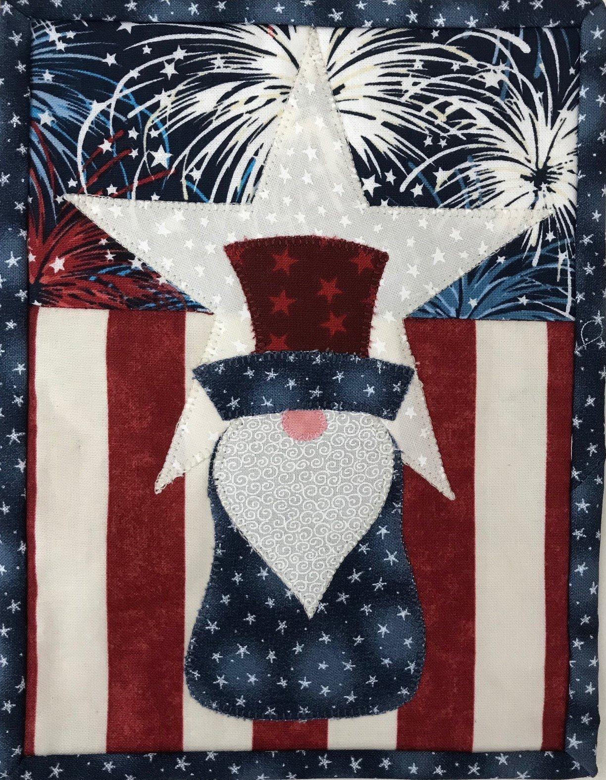 July Gnome Patriotic