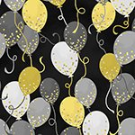 Balloons Black& Gold