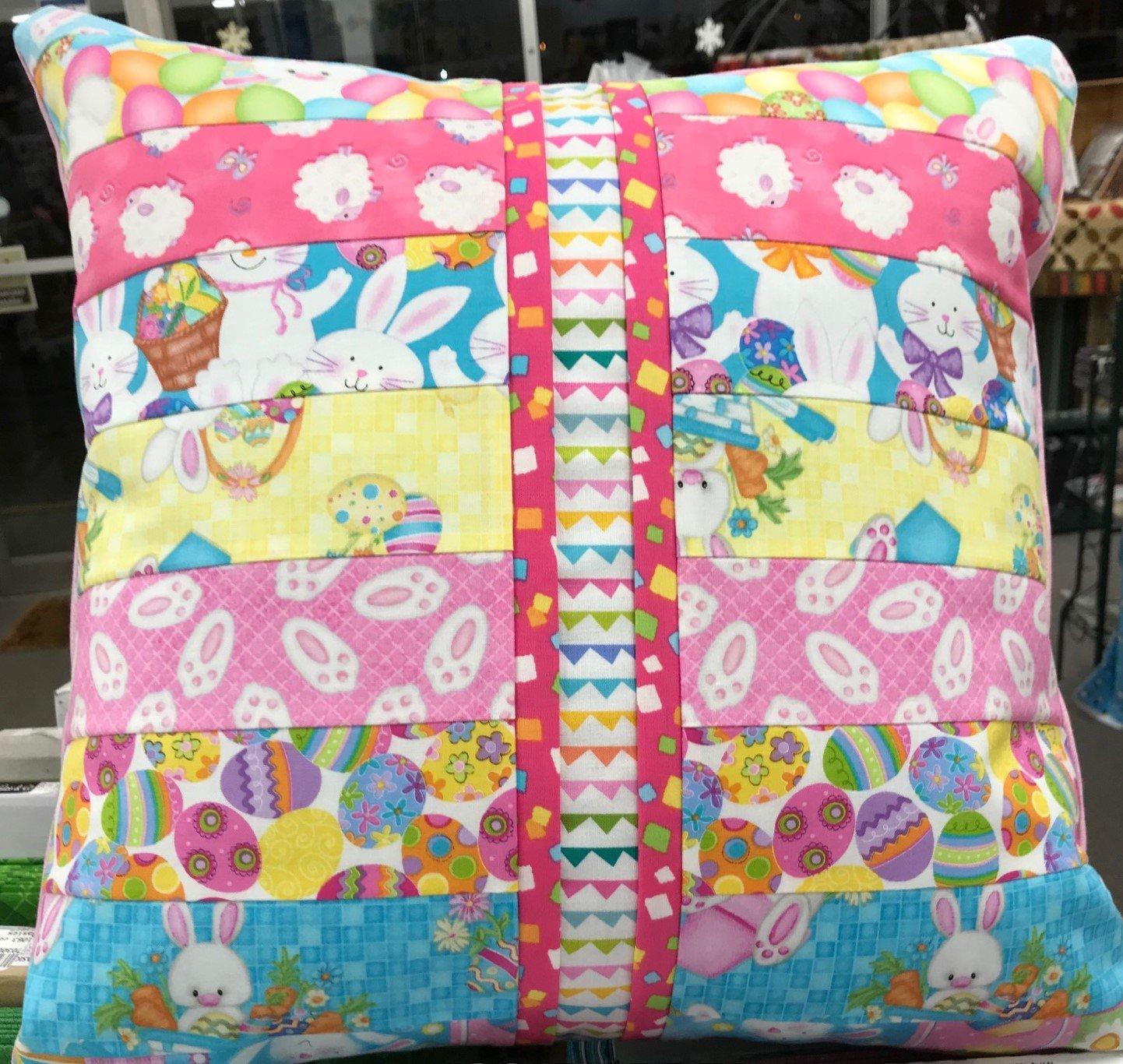 Beginner Rotary Cutter Pillow Kit Easter Version