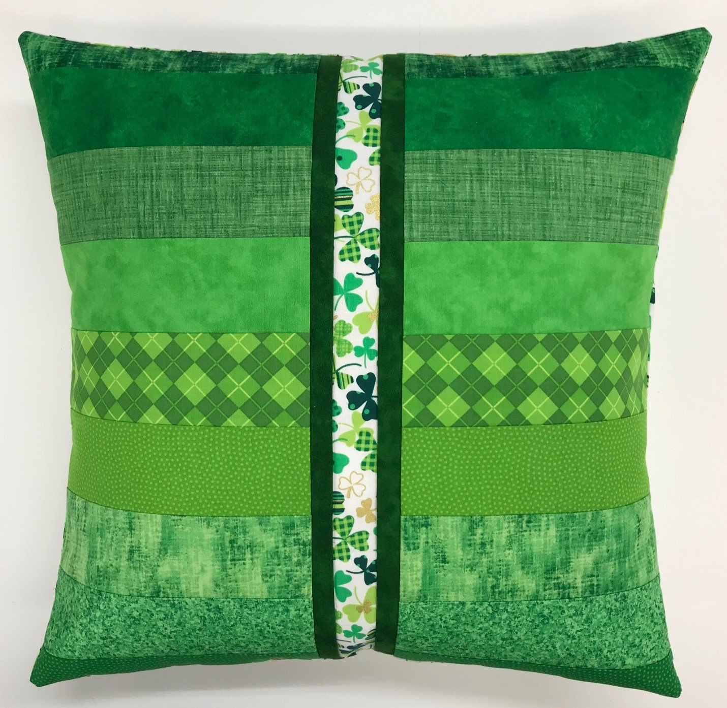 Beginner Rotary Cutter Pillow - St. Patrick's Day