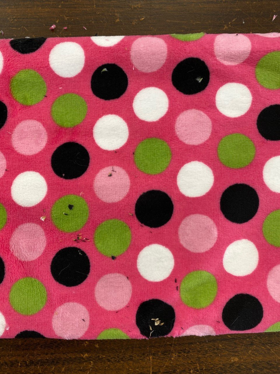 Cuddle Infinite Scarf Kit - Pink Polka Dot