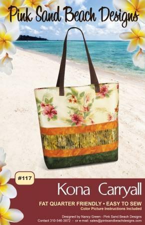 Kona Carryall  Pink Sand Beach Designs