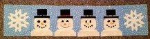 2014 Row By Row - Snowman