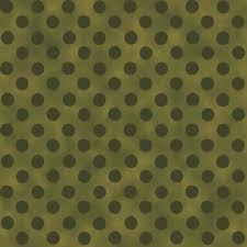 Too Cute to Spook Green Polka Dot