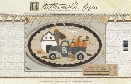 Vintage Truck Thru the Year - Sept