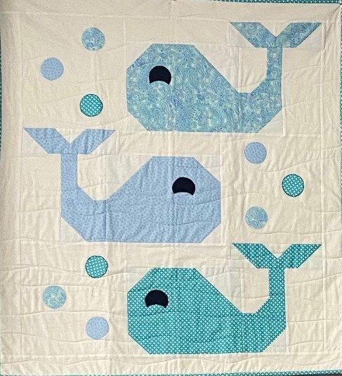 Fat Quarter BabyAndrew/Whale Quilt pg. 28