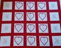 A Year of Love Panel Squares M-22