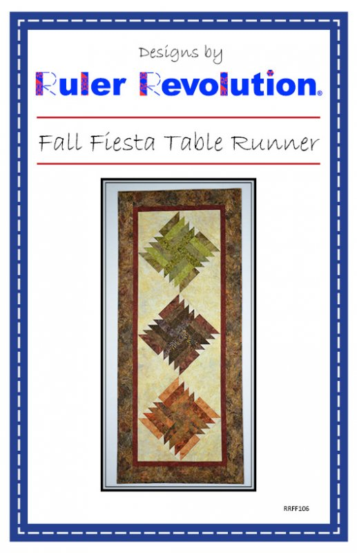 Fall Fiesta Table Runner