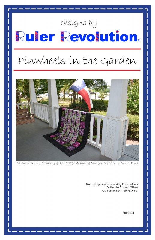 Pinwheels in the Garden