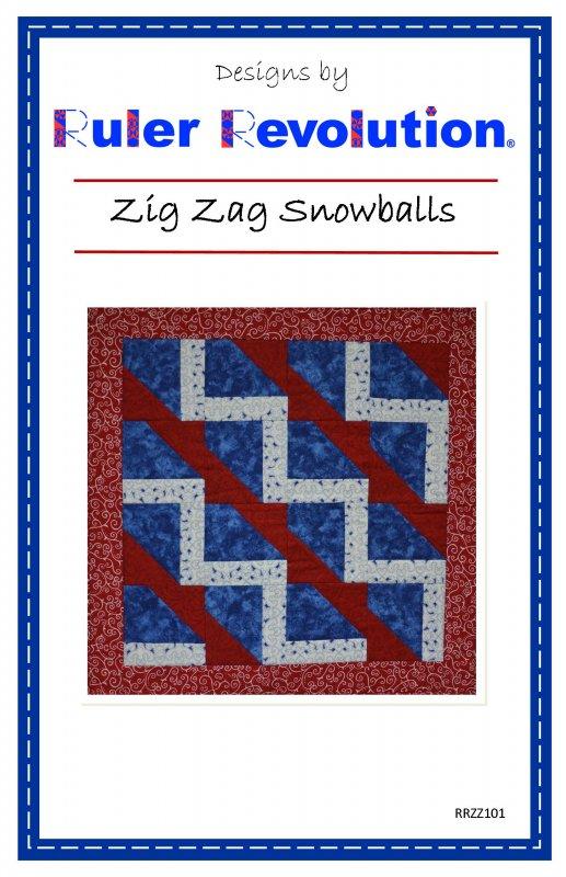 Zig Zag Snowballs