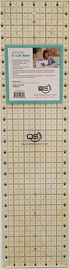 Quilters Select Quilting Ruler 6.5 x 24