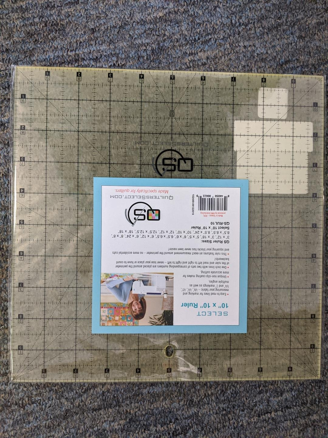 Quilters Select 10 x 10 Ruler