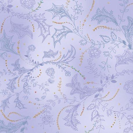 Enchanted Floral,  Floral & Vine Toile Lilac