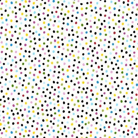 Sew Sassy Dots White