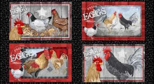 Chicken Scratch Panel