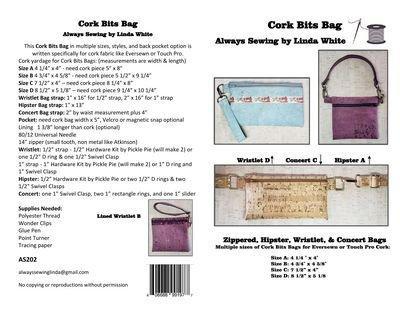 Cork Bits Bag Pattern