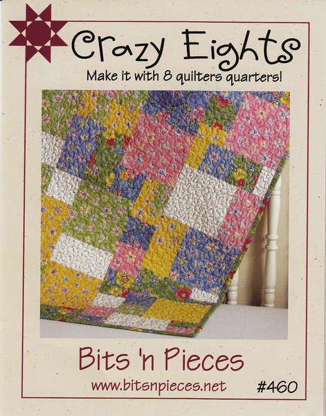 Crazy Eights quilt pattern