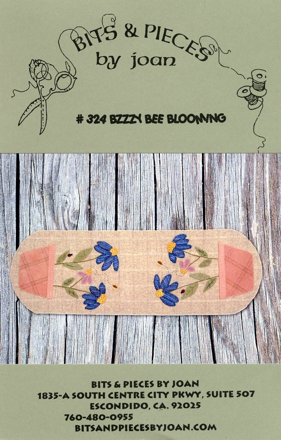 Bzzzy Bee Blooming Pattern