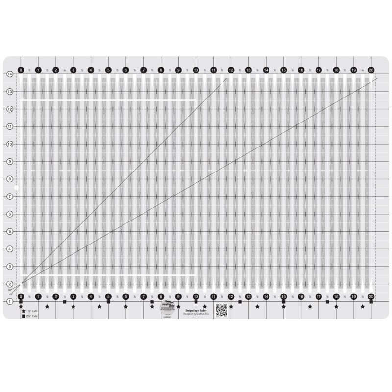 Creative Grid Stripology Ruler
