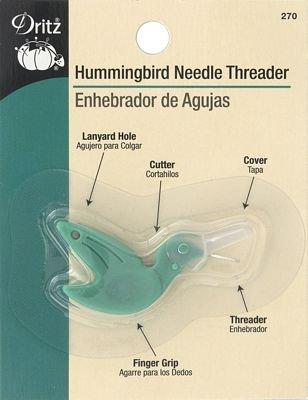 Hummingbird Needle Threader and cutter