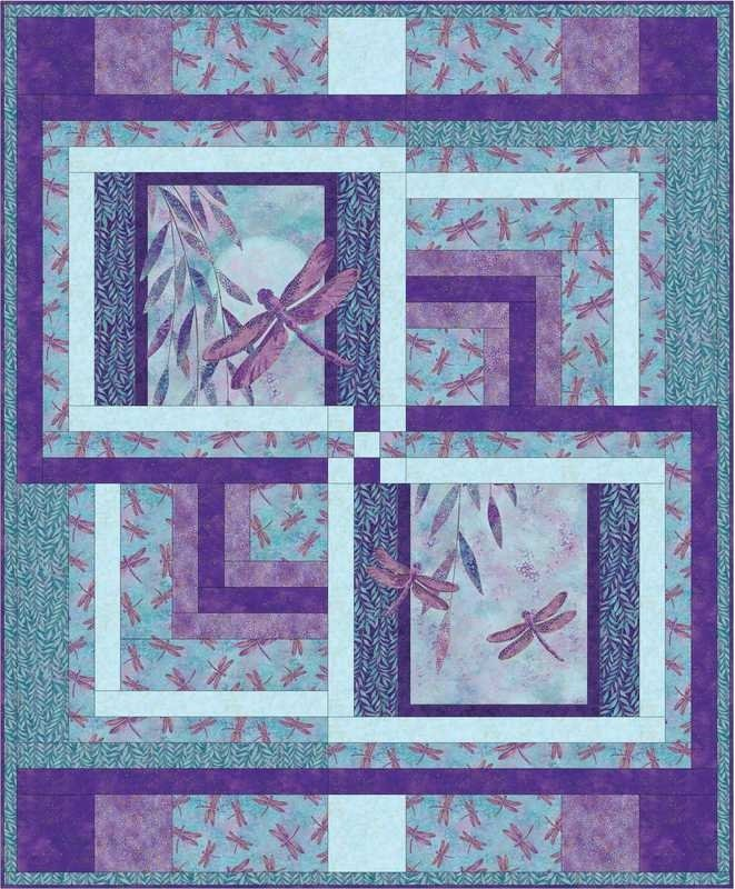 Dragonfly Delight Quilt Kit