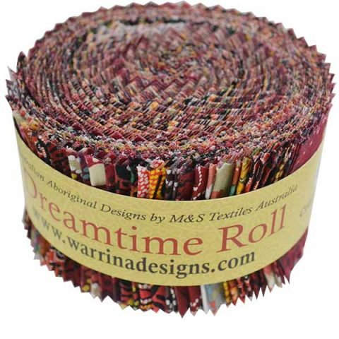 Dreamtime Roll 40 Strips - Red