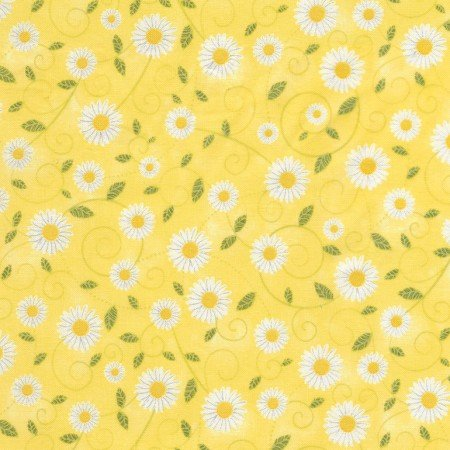 1 yard Daisy Vines Yellow?