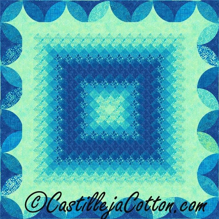 Glowing Eight Pattern