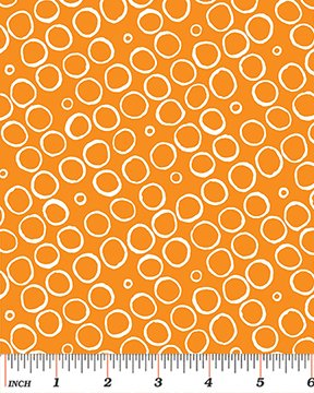 Butterfly Effect Circles Orange
