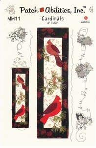Cardinals Mini Pattern