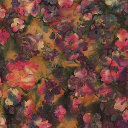 August Bali Batik Graphic Flowers
