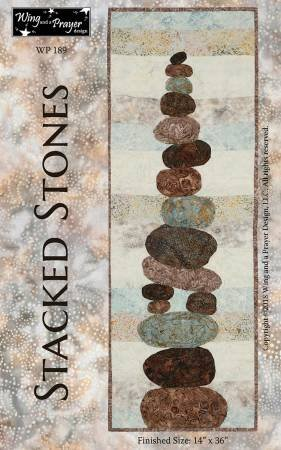 Stacked Stones Wall Hanging Kit