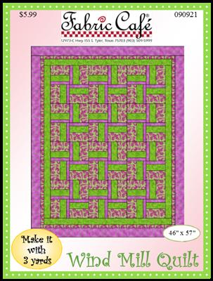 Windmill 3 Yard Quilt Pattern