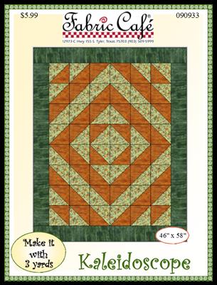Kaleidoscope 3 Yard Quilt Pattern
