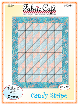 Candy Stripe 3 Yard Quilt Pattern