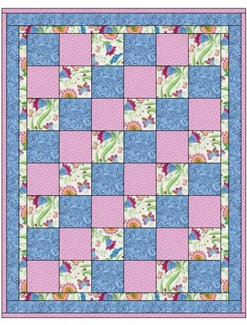 Sew EZ 3 Yard Quilt Pattern