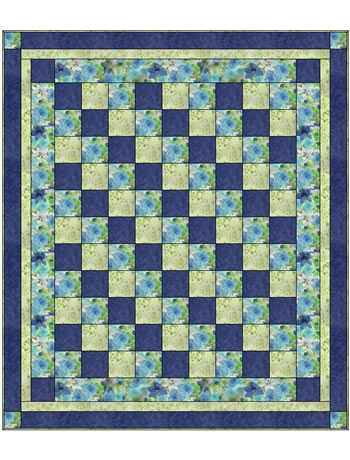 Four Square 3 Yard Quilt Pattern